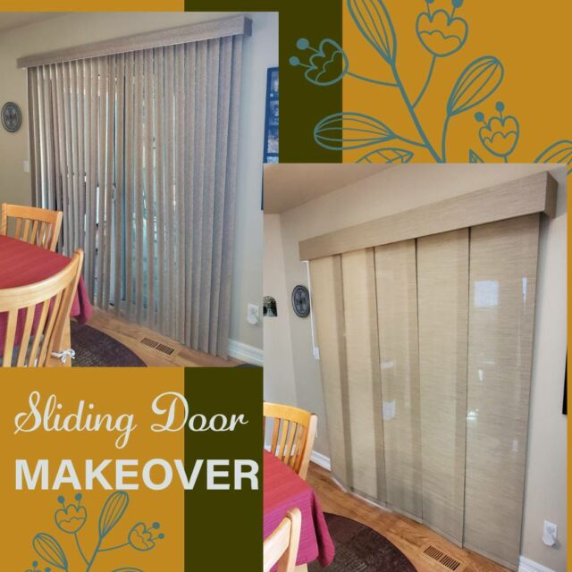 Another sliding glass door covering brought into the 21st century! Ready to replace your verticals with a sleek and modern Panel Track? Give us a call! 719-344-2799   #Colorado #ColoradoSprings #CSCustomBlinds #Blinds #Shutters #Shades #Home #HomeDecor #HomeImprovement #LocallyOwned #WindowCoverings #SmallBusiness #InteriorDesign #Realtor #Staging #NewHouse